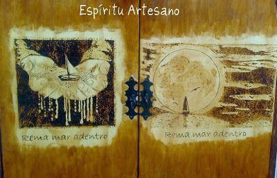 Espíritu Artesano: Pirograbados