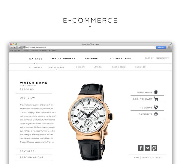 Timescape USA : Front End Web Design on Web Design Served