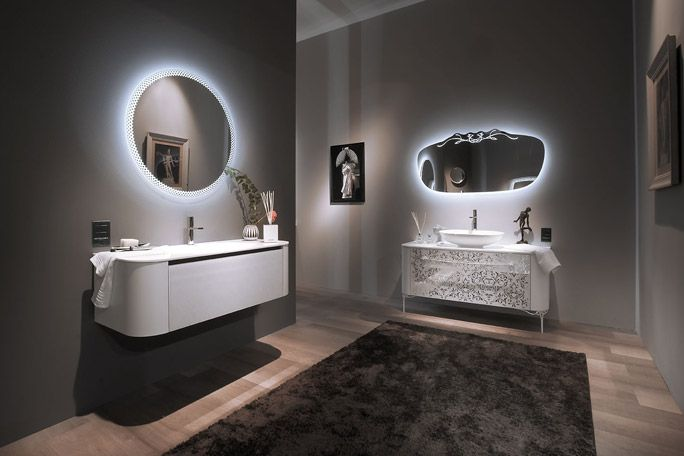 ... Specchi, LED, Made in italy, Made in toscany, Firenze,  Bagno