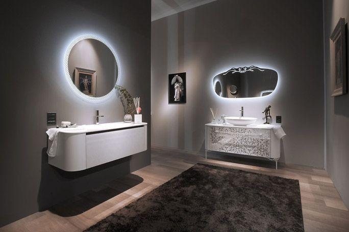 Novita 39 2015 bagno design arredobagno arredamento bagno arredobagno moderno specchi led - Specchi bagno moderni ...