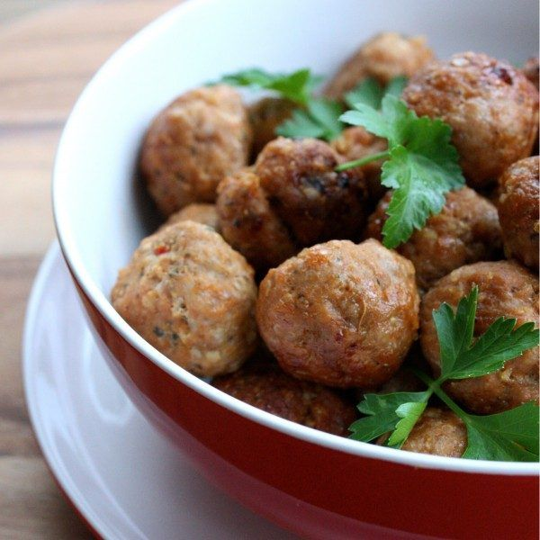 Delicious easy wholefood meatballs