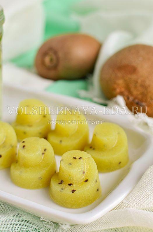 Мармелад на агаре банан-киви без сахара
