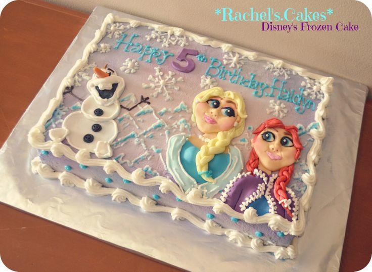 Fancy Frozen Theme Cake Pan Party Invitations Ideas