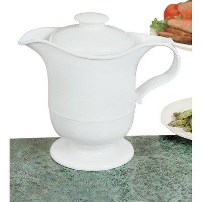 Fox Run 14-Ounce Thermal Gravy Boat by Fox Run Craftsmen. $12.99. White plastic exterior. Thermal gravy boat. Stainless steel internal liner. Lightweight and durable. Keep gravy and sauces warm on the table. Keep your gravy and sauces warm in this White Plastic Gravy Boat with a stainless steel liner.  Holds 14 oz.  Lightweight and durable.  Convienient handle and pour spout.