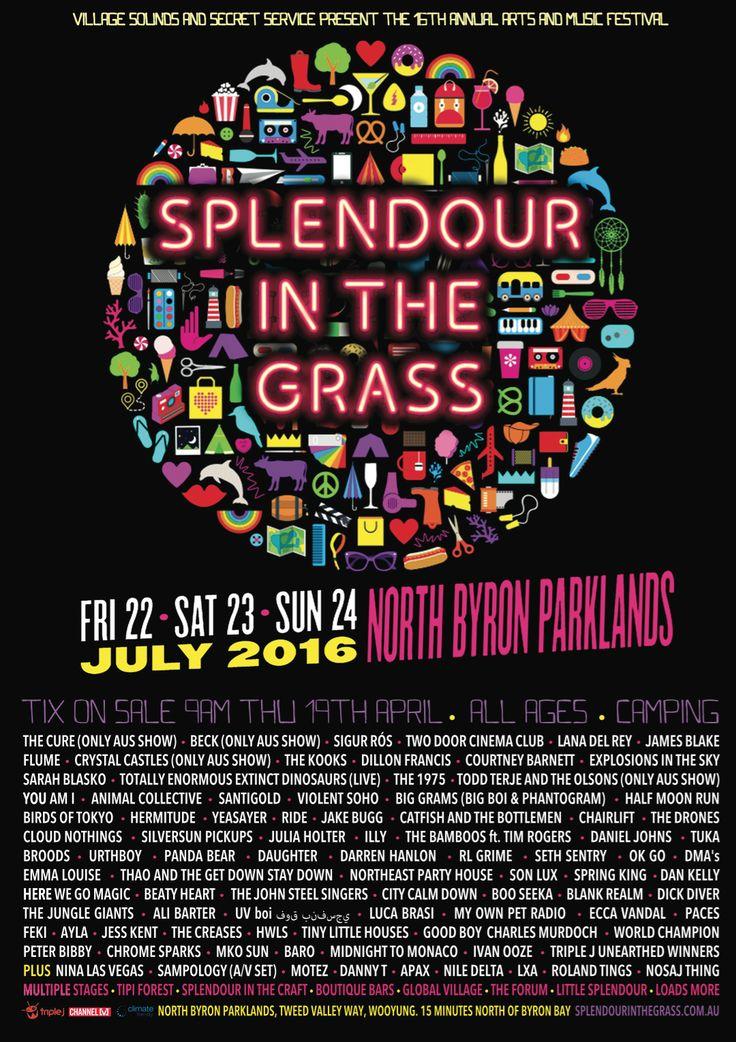 Splendor In The Grass Music Festival