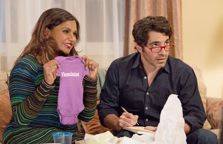 With Chris Messina in The Mindy Project