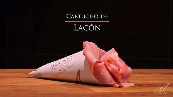 Lacon Gourmet Cone. Jamonería José Luis Romero. Seville, Spain. // Cartucho de Lacón. Sevilla, España.