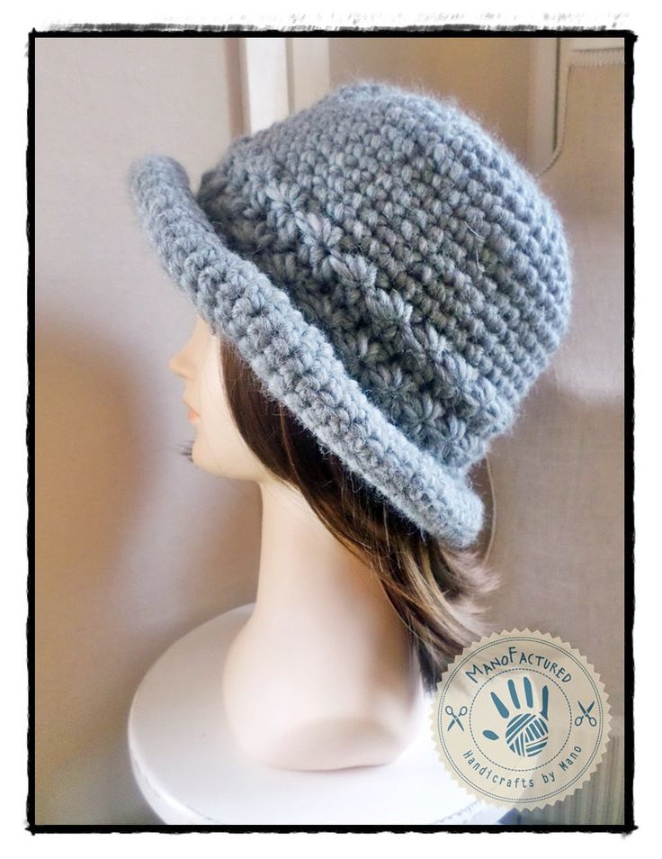 Prague crochet cap by ManoFactured on Etsy