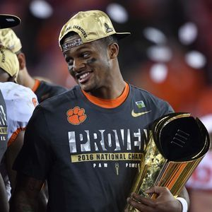 (pictured: Deshaun Watson) Clemson gets revenge vs. Alabama to win national championship | Nicole Auerbach , USA TODAY Sports Published 12:24 a.m. ET Jan. 10, 2017