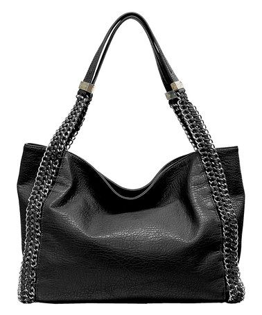 Look at this #zulilyfind! Black Lulu Tote by Jessica Simpson Collection #zulilyfinds