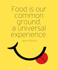Food is your common ground. #SHARKS_FISH_AND_CHICKEN