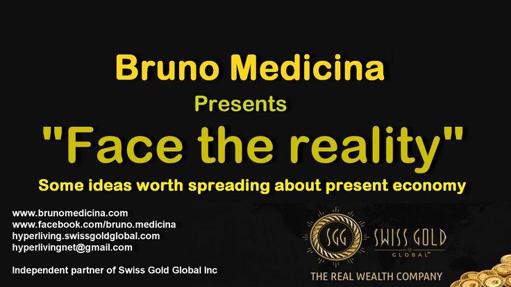 "Bruno Medicina presents ""Face the Reality""  #hypercoaching #coaching #hyperliving  #training #seminar #sellingwww.brunomedicina.com"