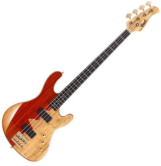Cort Rithimic Nat Jeff Berlin Signature 4 String Electric Bass Paduck Spalted #Cort #JazzBass
