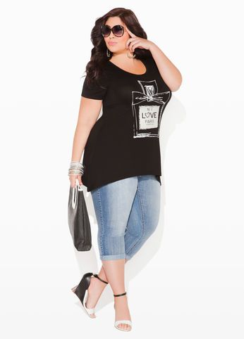 Now this is my kind of casual outfit.  Not everyone is a size 2 and we need trendier clothes for larger women