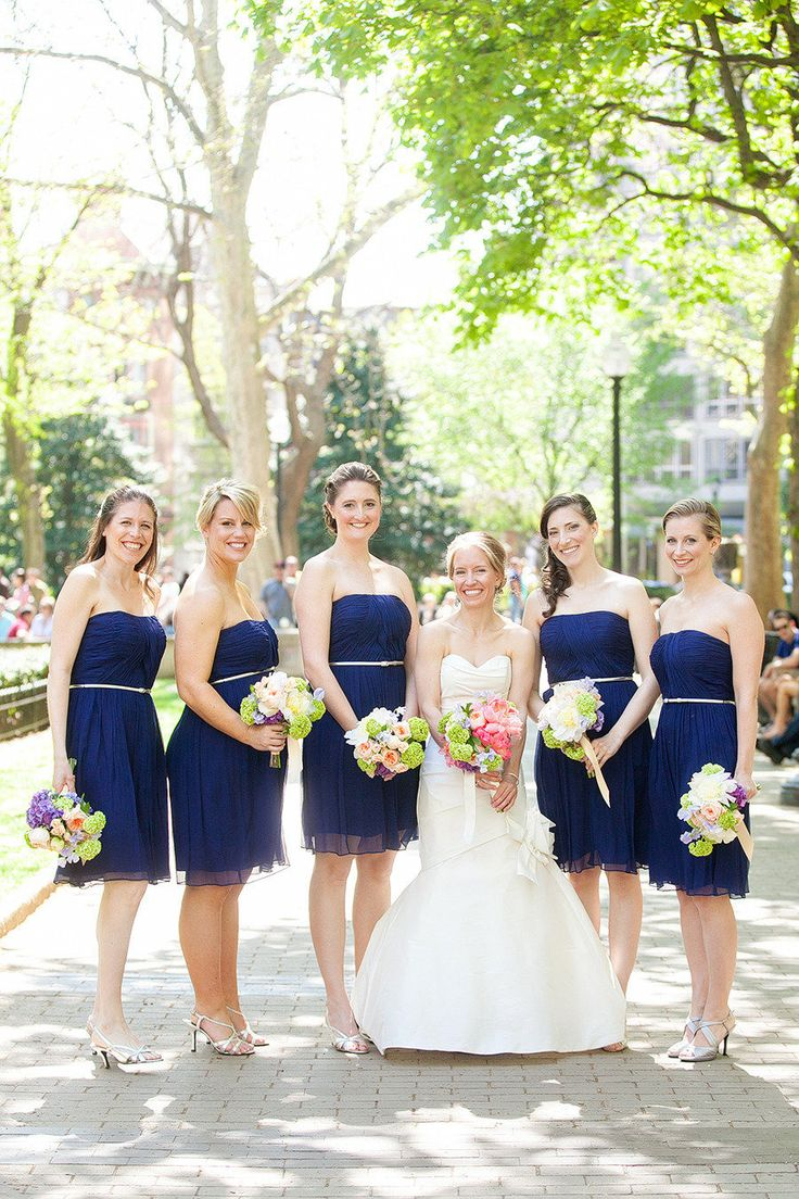 39 best possible bridesmaid dress colors images on pinterest philadelphia wedding from wren field photography navy bridesmaid dressesblue ombrellifo Image collections