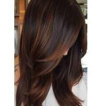 Super Haarfarbe rot dunkel brünett schokoladenbraun 61 Ideen