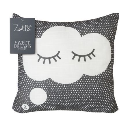 Cute cushion Sweet Dreams from Zoella Lifestyle collection at House Of Fraser