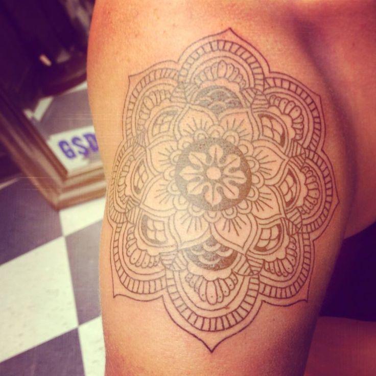 tattoo! #mandala #mandalatattoo