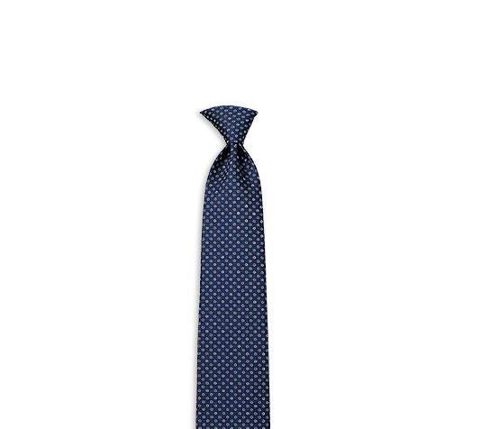 Myosotis Hermes heavy silk twill tie, hand-folded, 3.15'' wide (100% silk)