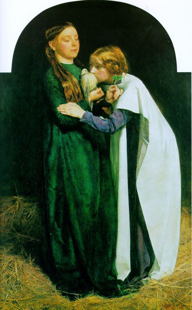 John Everett Millais - The Return of the Dove to the Ark  1851