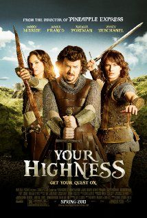 Movie #64 - 0/5 - Your Highness - Maybe worst movie ever made? Natalie what were you thinking?