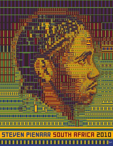 Steven Pienaar: South Africa 2010 by tsevis, via Flickr