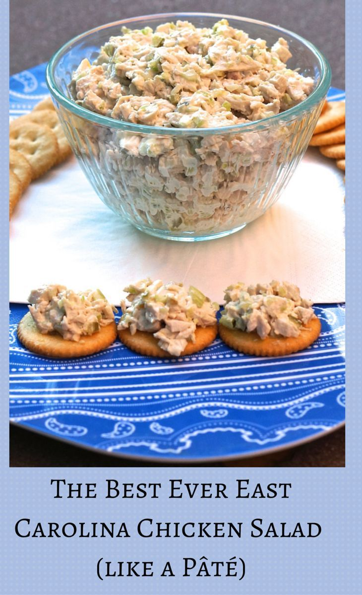 best_chicken_salad (like a pate)  Be sure to read the commnent as there are a lot of variations and tips that people give