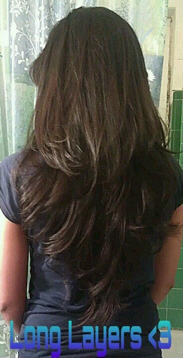 layered long hair style 17 best ideas about v layered haircuts on v 8326 | afbf83341d91a795b7439eb1f4d39502