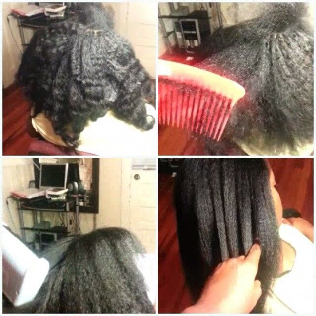 CROCHET MARLEY HAIR  NO CURL STRAIGHTENED WITH LOW TEMPERATURE LOOK VERY NATURAL