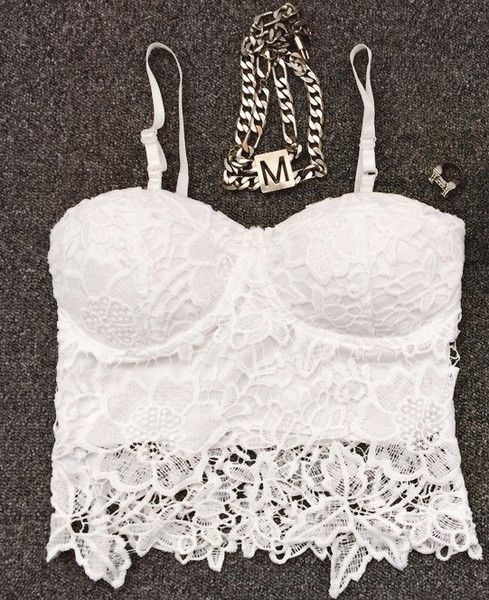 Kylie Sexy Laces Cropped Top (2 colors available) what I'm gonna wear when I get my six pack