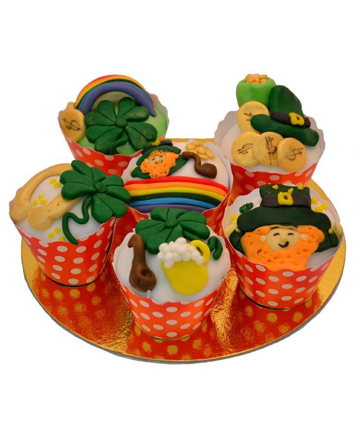 Cupcake St Patrick