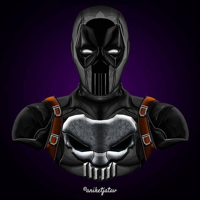 7/365 : Deadpool Series Artwork : 7 - Punisherpool  Another no brainer character mashup. . Full brightness preferred. Zoom in for details ☀️ ➖➖➖➖➖➖➖➖➖➖➖➖➖➖➖➖➖ #art #artist #avengersinfinitywar #digitalart #sketch #dc #dceu #captainamerica #ironman #infinitywar #deadpool #spiderman #blackpanther #cable #comics #instagram #instalike #instagood #instafollow #instart #artist #followforfollow #like4like #like #follow #xmen #wolverine #punisher #deadpool2 #marvelcomics