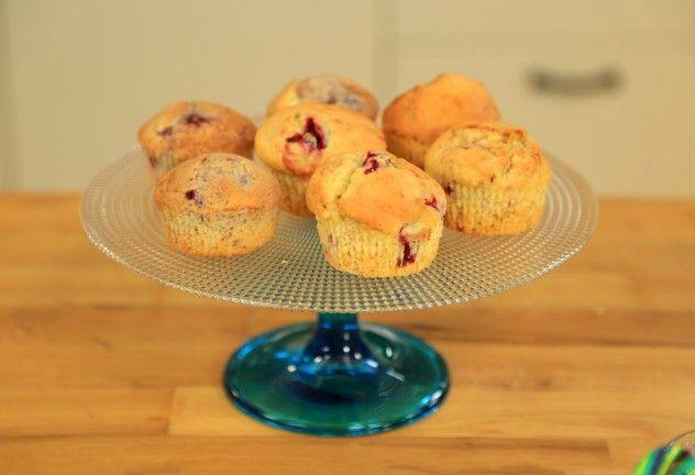 vişneli muffin