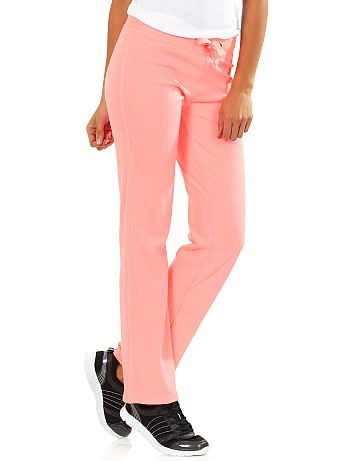 Pantalon sport coton molletonné Femme - Kiabi - 9,99€