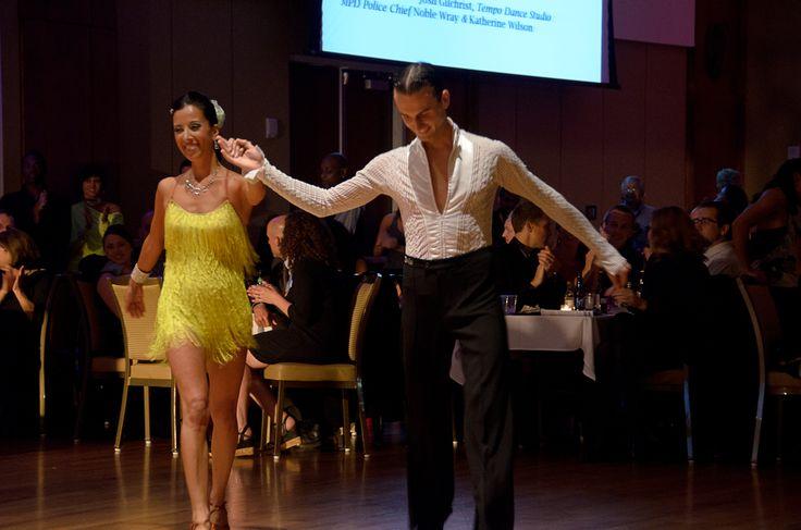 Charlotte Deleste and her professional dancer, Dmitri ...