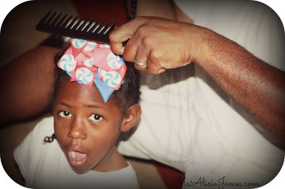 Tips for Fathers: Curly Kids and Hair Care