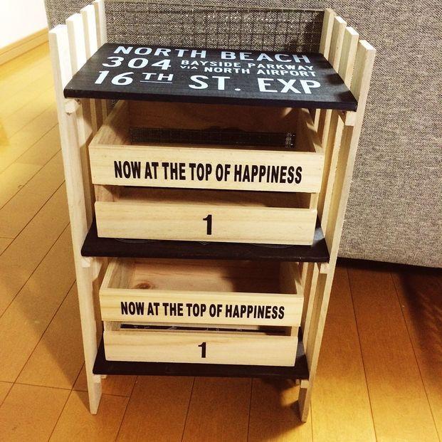 お金をかけずに収納グッズを作りたいと思ったときに便利なのが、100均のシンプルな木箱。ペイントしたり組み合わせたりするだけで、お洒落な飾り棚やチェストができあがるんです♡今回は、詳しい作り方をご紹介します。