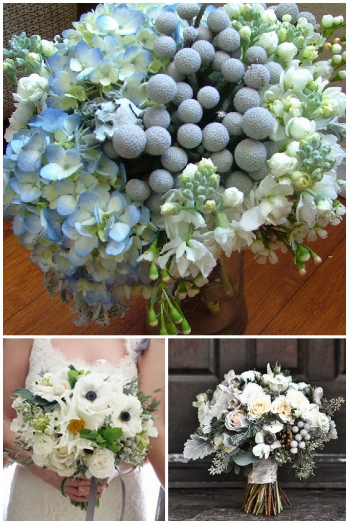 Florists' Favorites – Silver Brunia Berries
