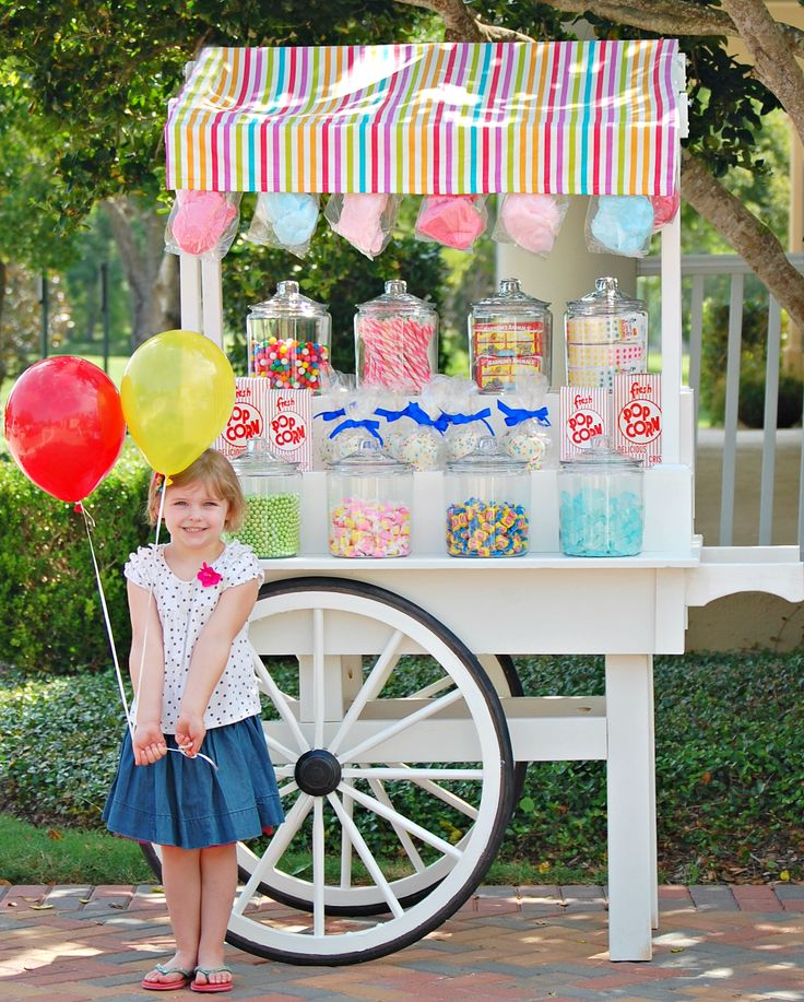 95 Best Candy Carts Images On Pinterest