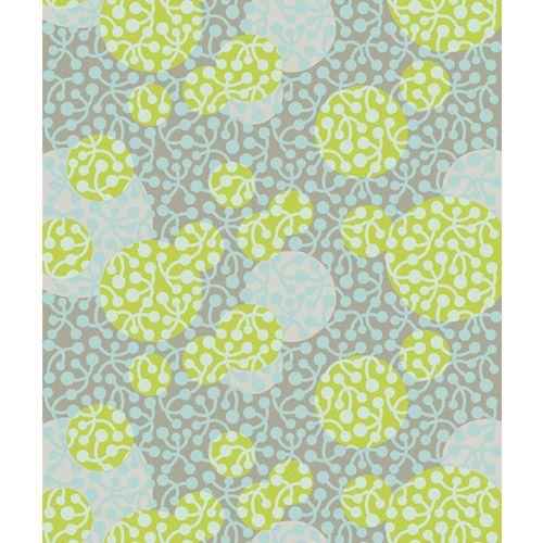 Marimekko Kirsikka Blue/Green Upholstery Fabric $68.00