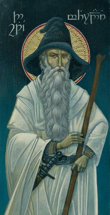 """The name Gandalf derives from the Old Norse words gandr (magic staff) and álfr (elf), thus a protective spirit who wields a magical wand.  In Valinor he was known as Olórin, which comes from the Elvish 'olor', which means """"dream"""", although """"that does not refer to (most) human 'dreams,' certainly not the dreams of sleep"""". Furthermore, olor is derived from Quenya olo-s which means """"vision, phantasy."""""""