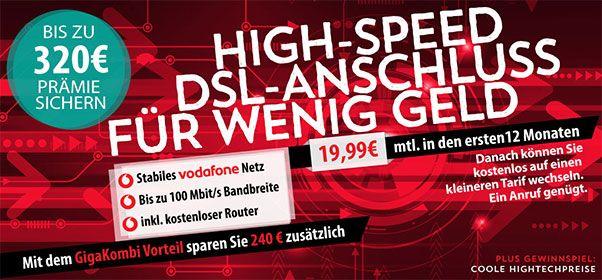 Vodafone DSL Tarife mit bis zu 320€ Bonus http://www.simdealz.de/vodafone/dsl-tarife-mit-auszahlung/