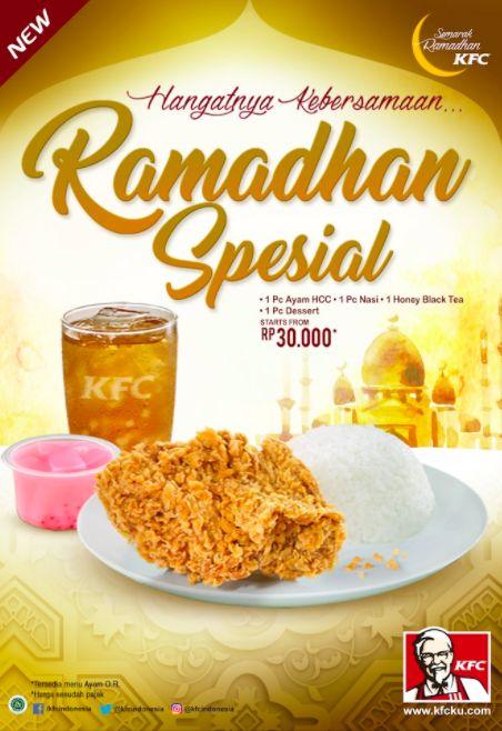 Harga Menu KFC Ramadhan Spesial -Masyarakat modern selalu mendambakan segala sesuatunya harus praktis, murah, cepat, dan nikmat. Oleh karenanya makanan fa