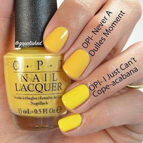 Top 25+ best Yellow nail polish ideas on Pinterest | Yellow nail ...