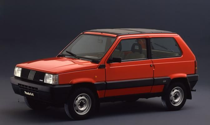 fiat panda 4x4 1986 maintenance restoration of old vintage. Black Bedroom Furniture Sets. Home Design Ideas