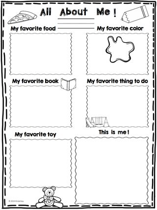 All about Me mini poster (Freebie) and a Back to School Sale... | Love Those Kinders! | Bloglovin'