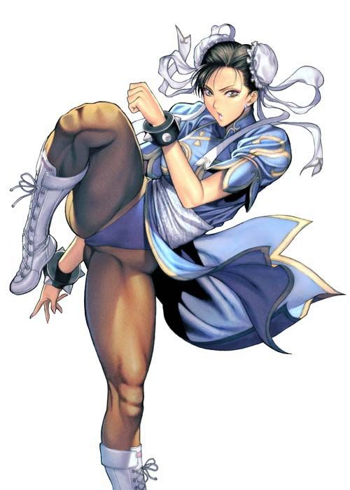 Street Fighter, Chun-li, by homare (fool's art)