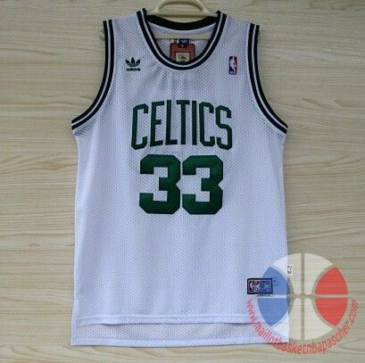 Adidas Camiseta nba baratas Boston Celtics Bird blanco malla pano