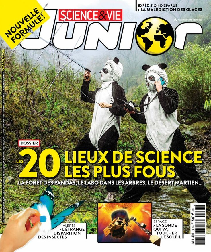 Science Vie Junior Back Issue No 347 Digital In 2020 Science Junior Comic Book Cover