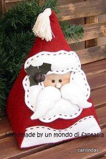 Triangular Santa